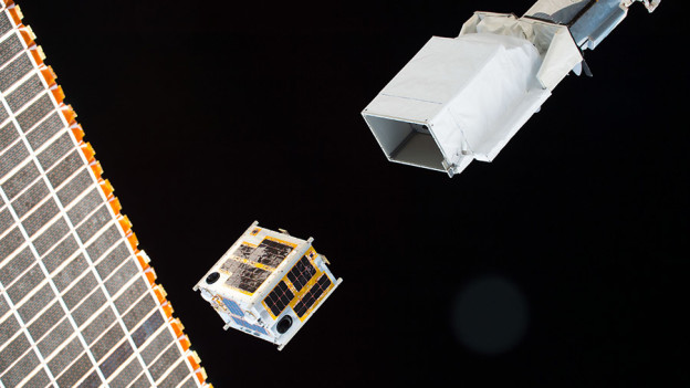 Earth Monitoring CubeSats Released