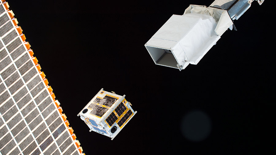 CubeSat Deployed