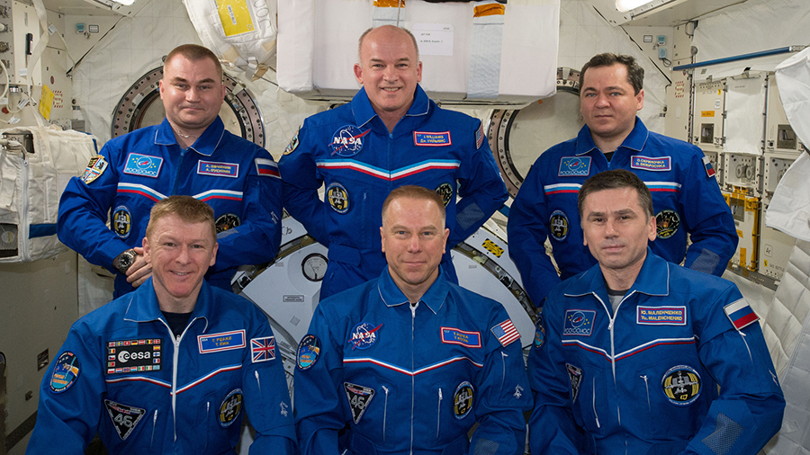 Expedition 47 Crew Portrait