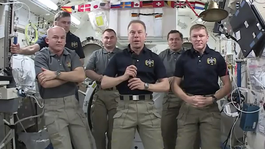 NASA Astronauts Swap Station Command