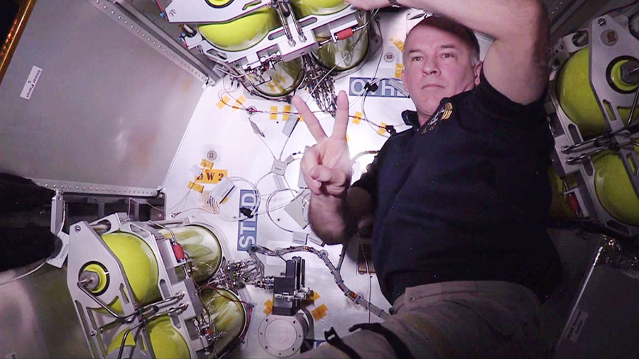 Astronaut Jeff Williams