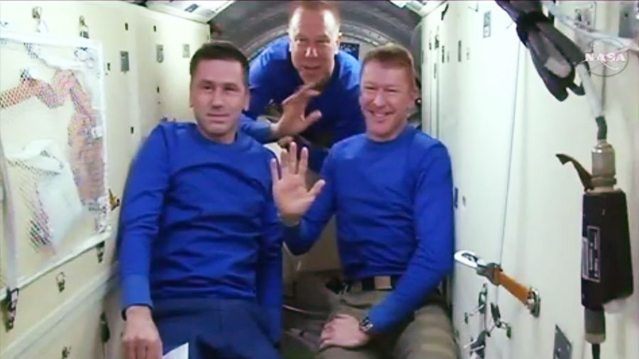 Expedition 47 Crew Farewell