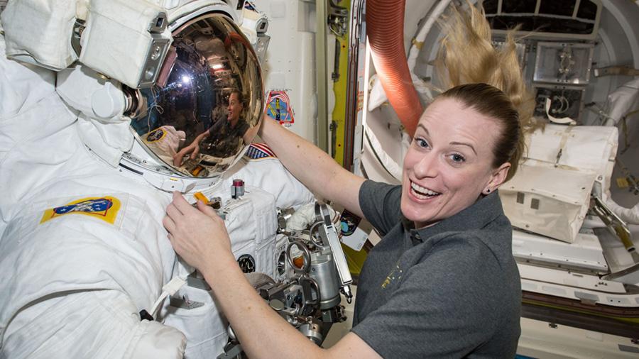 Astronaut Kate Rubins