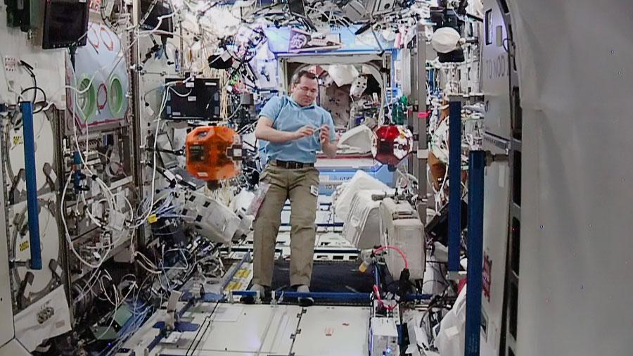Cosmonaut Oleg Skripochka
