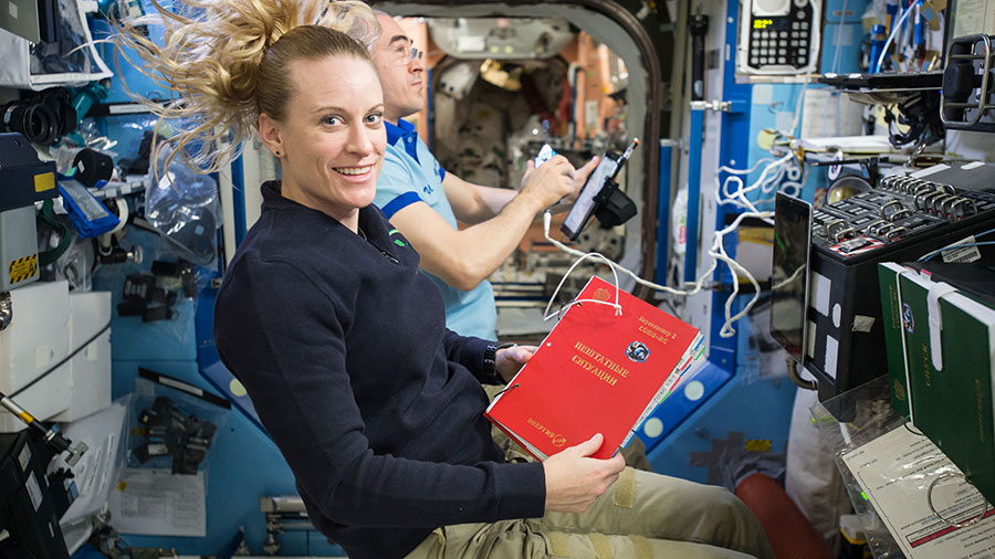 NASA Astronaut Kate Rubins