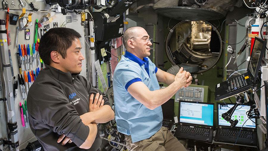 Takuya Onishi and Anatoly Ivanishin