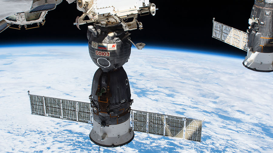 Soyuz MS-01 spacecraft