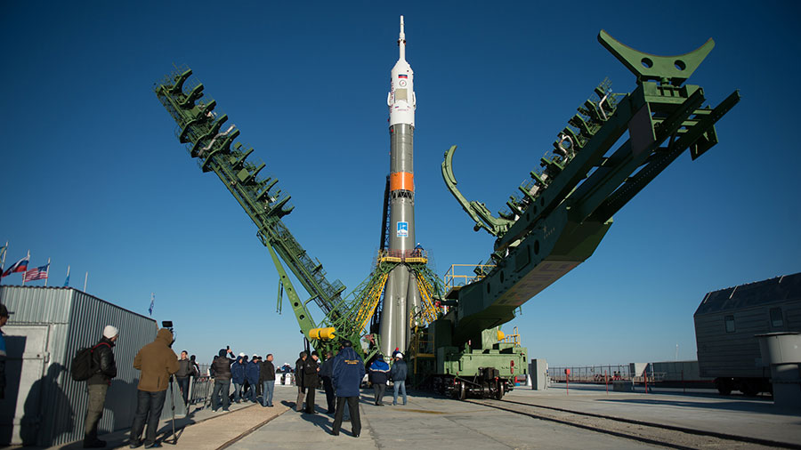 The Soyuz MS-02 Spacecraft