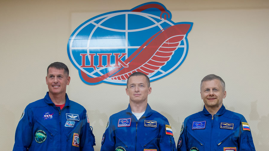 Expedition 49-50 Crew Members