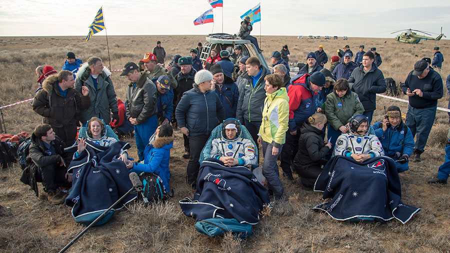 Expedition 49 Returns Home