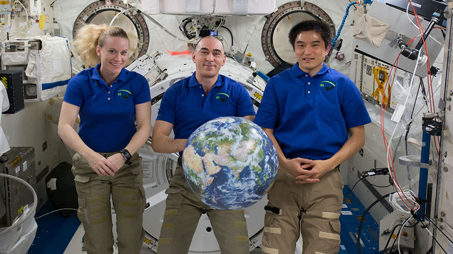 Expedition 49 Crew Members