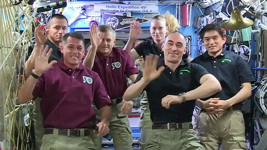 Expedition 49 Change of Command