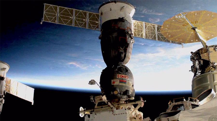 The Soyuz MS-01 Spacecraft