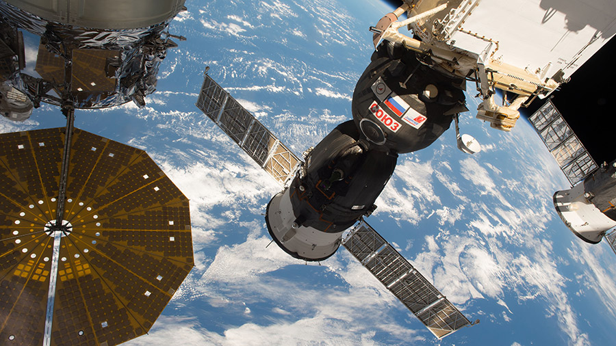 The Soyuz MS-03 Spacecraft