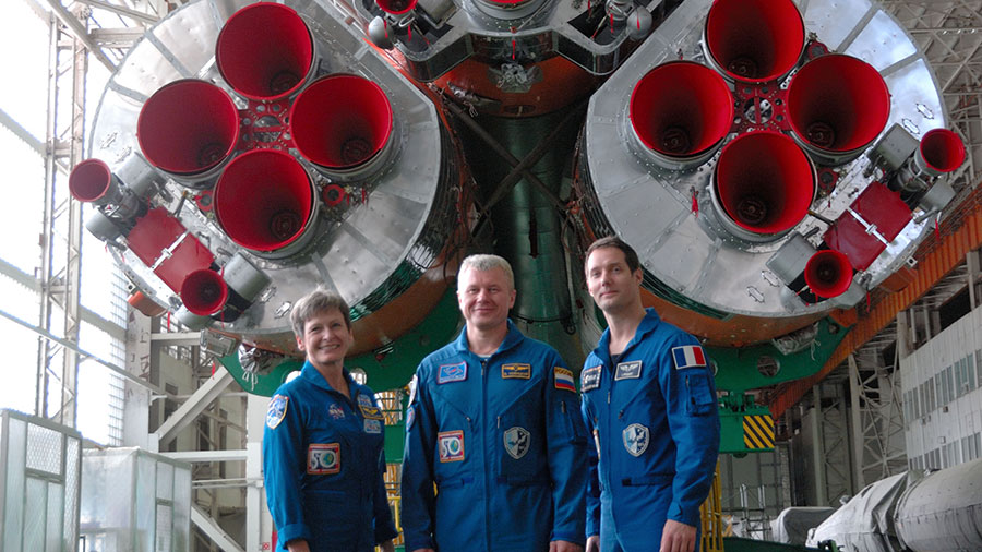 Expedition 50 Crew Members
