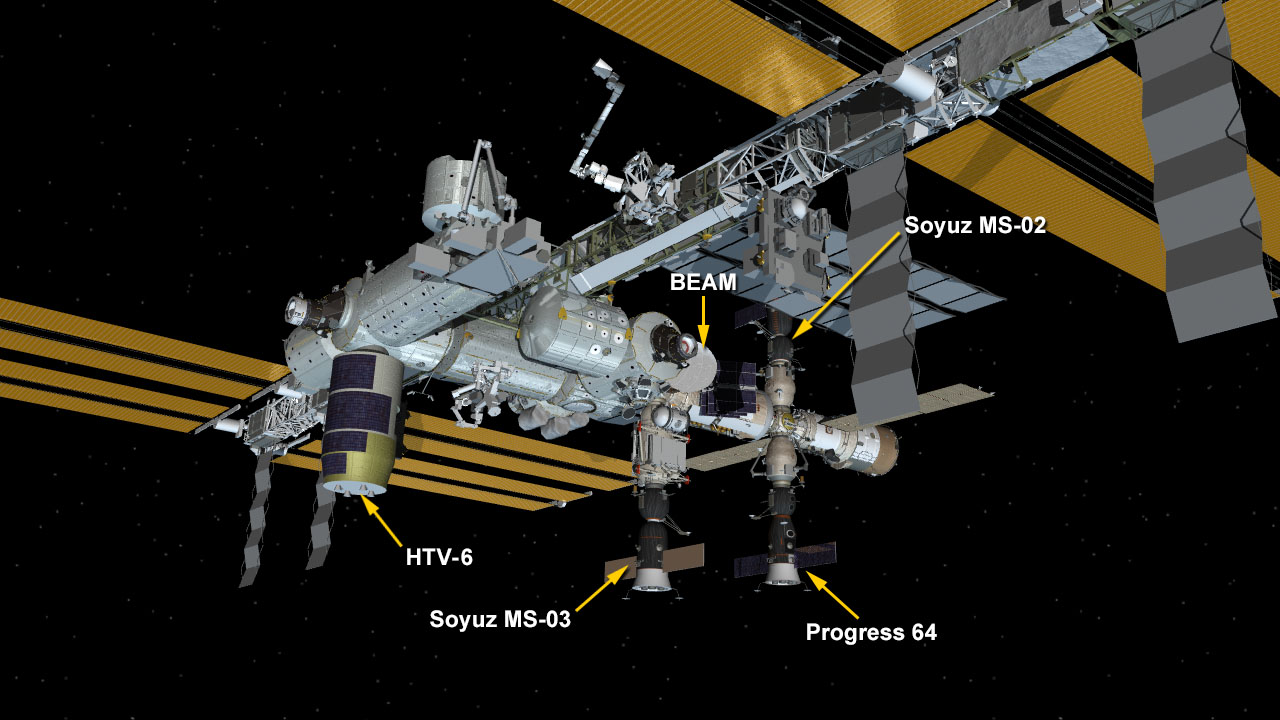 Dec. 13 Space Station Configuration