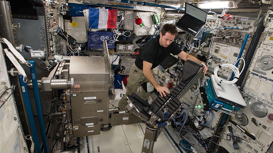 ESA astronaut Thomas Pesquet