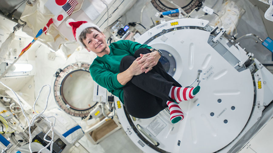 Expedition 50 Flight Engineer Peggy Whitson of NASA