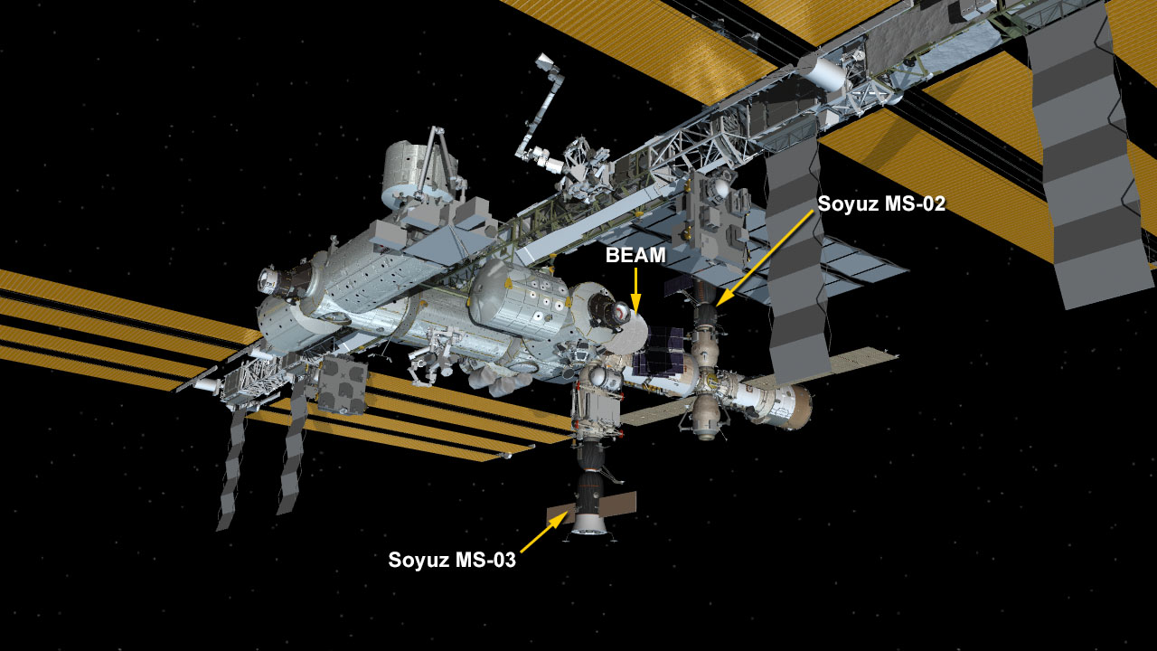 Jan. 31, 2017 Space Station Configuration