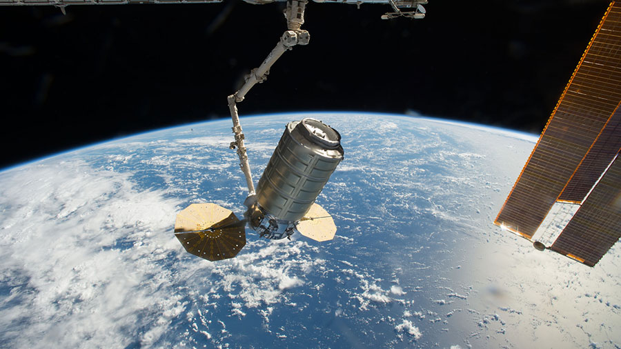 Orbital ATK's Cygnus cargo craft