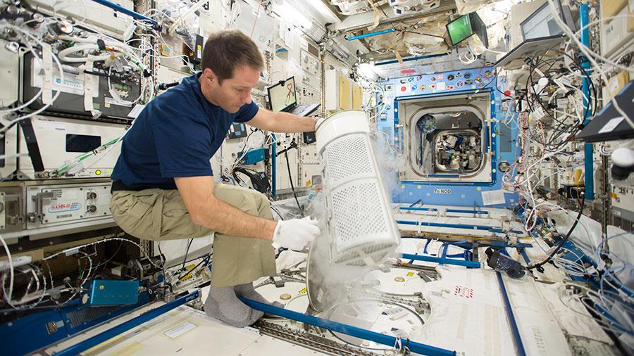 European Astronaut Thomas Pesquet