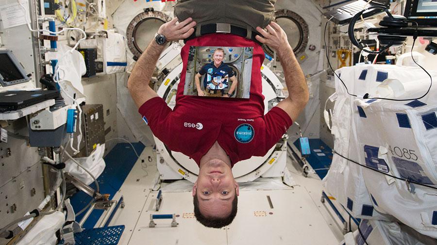 Astronaut Thomas Pesquet