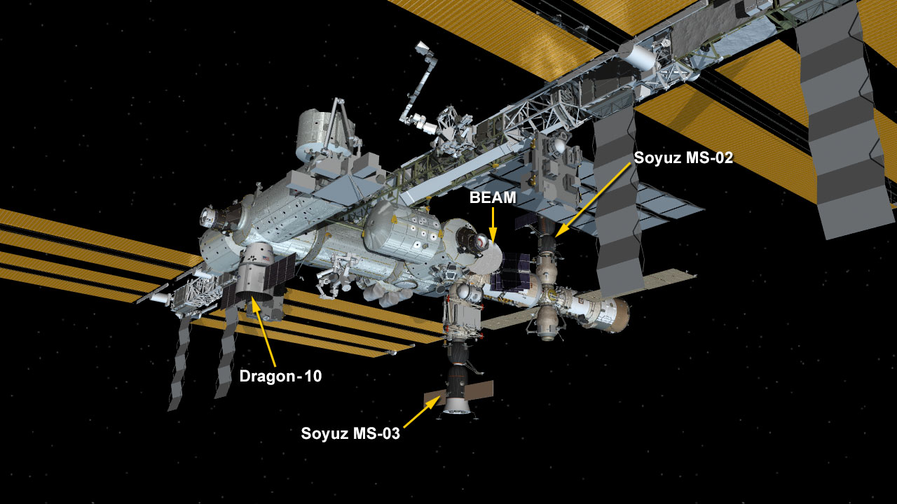Feb. 23 Space Station Configuration