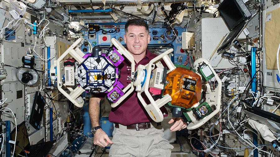 Astronaut Shane Kimbrough