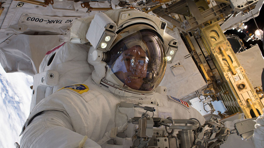 Spacewalker Shane Kimbrough