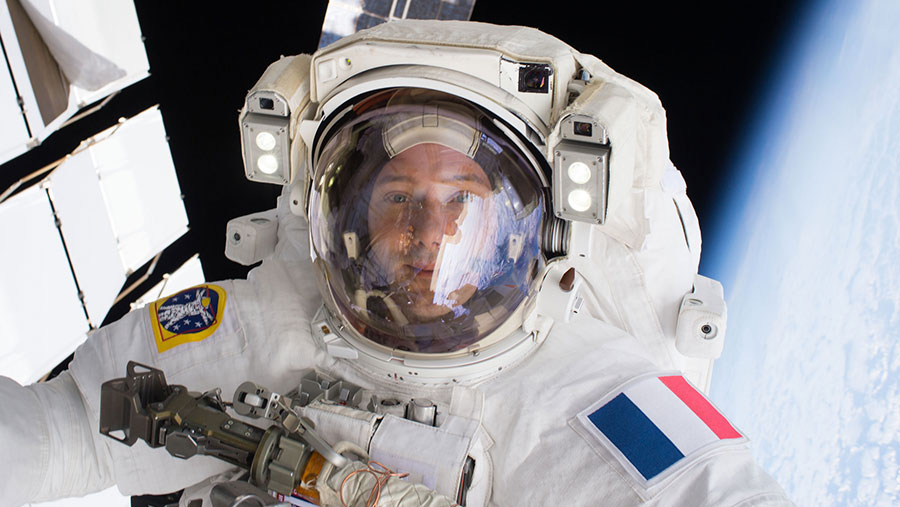Spacewalker Thomas Pesquet