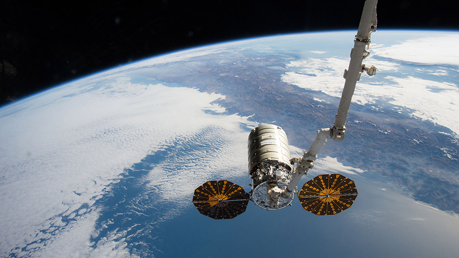 The Orbital ATK Cygnus spacecraft