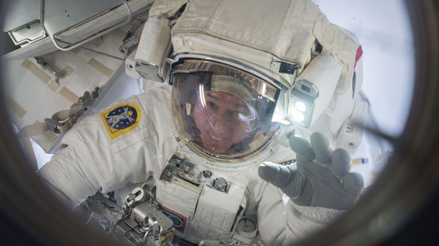 Astronaut Shane Kimbrough