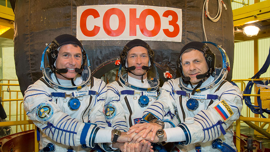 Expedition 50 Trio