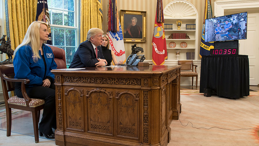 The President Calls the Space Station