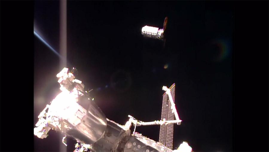 Cygnus Final Approach