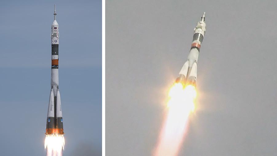 Soyuz MS-04 Launch