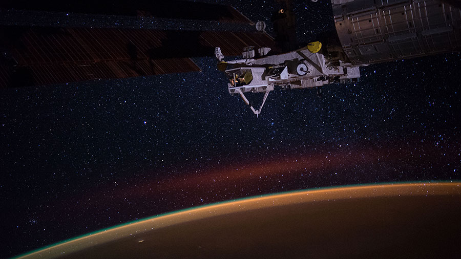 Earth's Atmospheric Glow