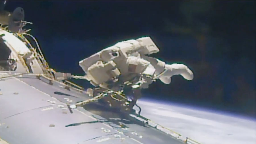 200th Station Spacewalk Comes to an End – Space Station