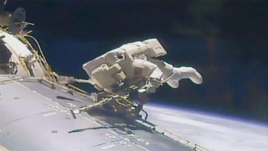 Astronaut Jack Fischer