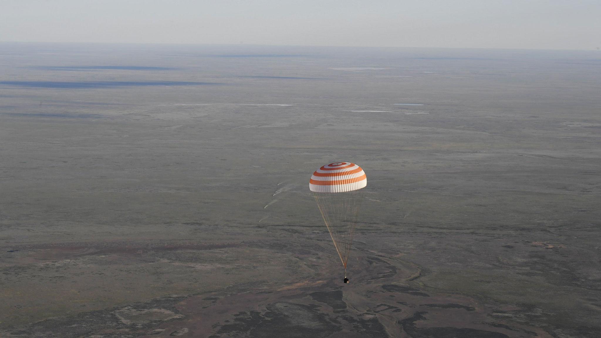 Soyuz MS-03 Landing
