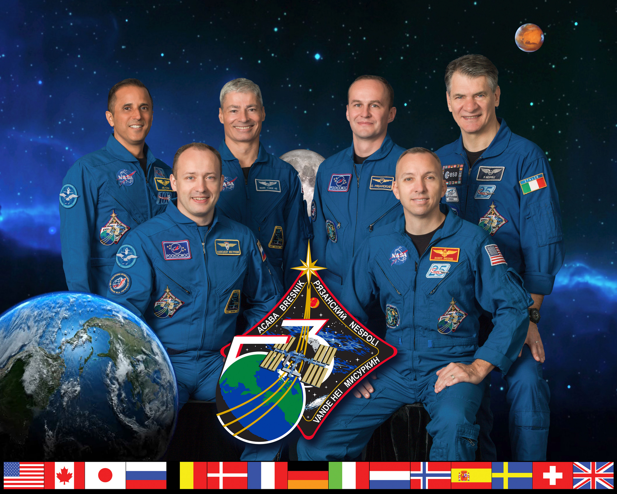 Expedition 53 Crew Members