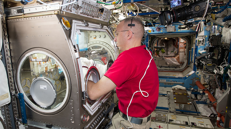 Astronaut Randy Bresnik