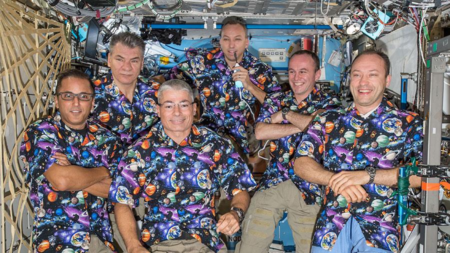 Expedition 53 crew portrait
