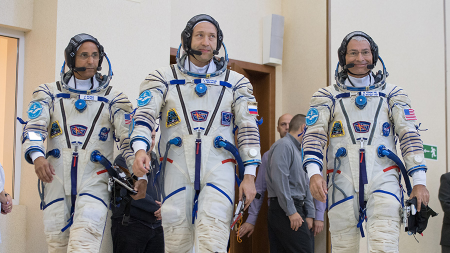 Expedition 53-54 Crew Members