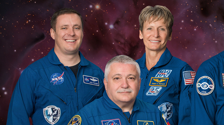 Expedition 52 Trio