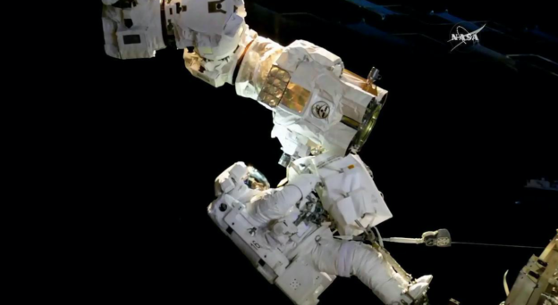Expedition 53 Spacewalk Successfully Comes to an End