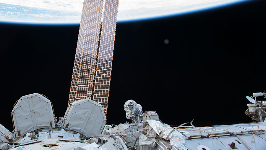 NASA astronaut Randy Bresnik
