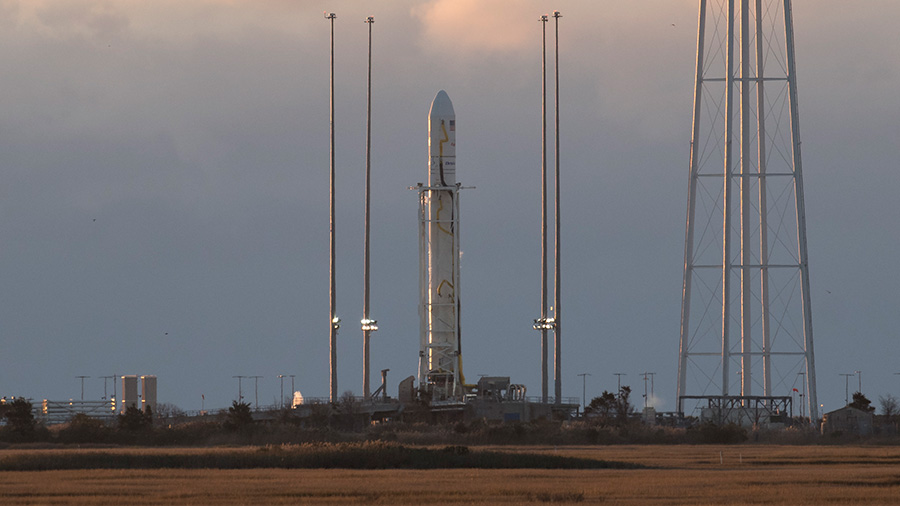 The Orbital ATK Antares rocket