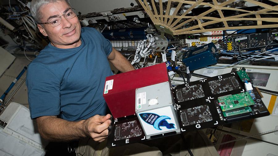 Astronaut Mark Vande Hei