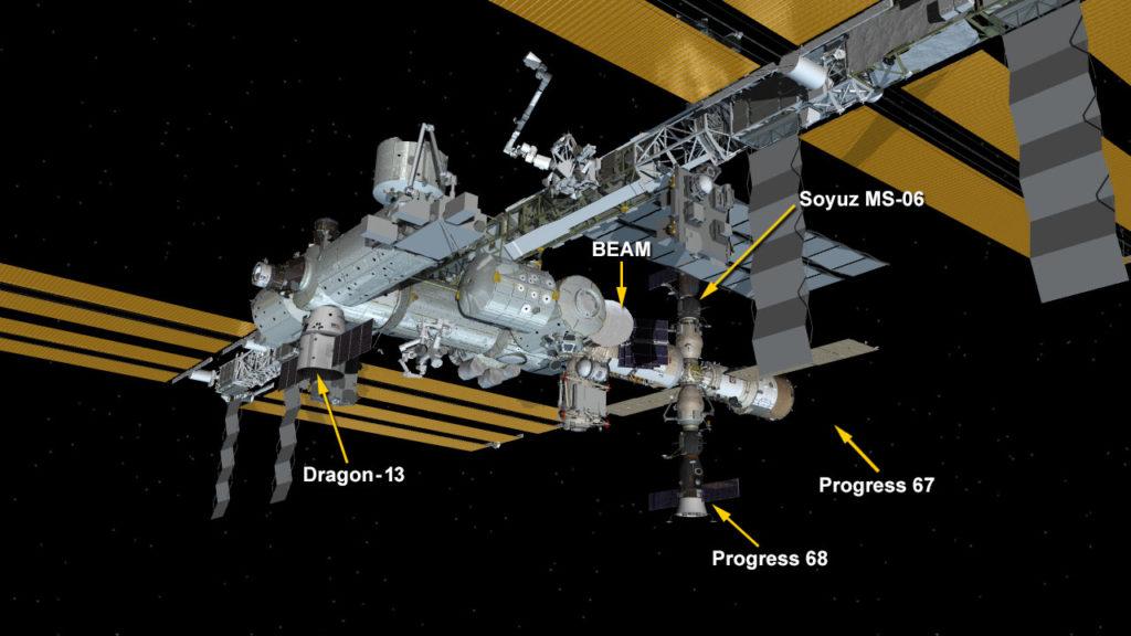 Dec. 17, 2017: International Space Station Configuration